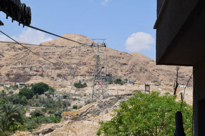 Mount of Temptation by Cable Car