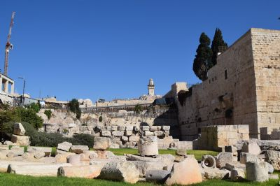 South/Western Wall excavations