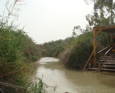 River Jordan near Jericho