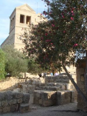 Church of Transfiguration on Mt Tabor