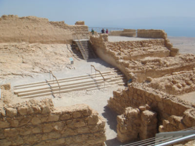 On Masada (the desert fortress of King Herod)