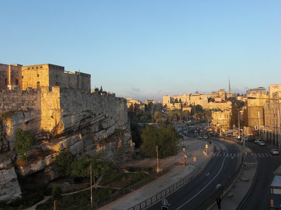 Old City Wall close to Damascus Gate
