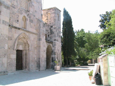 The Crusader Church of St Anne built in the twelfth century