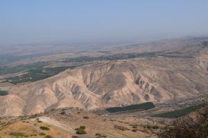 On the Golan Heights