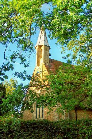Exterior church