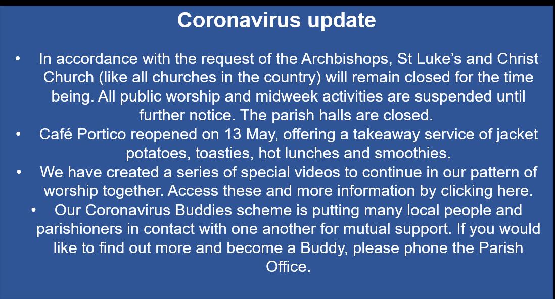 Coronavirus update (13/5/20)