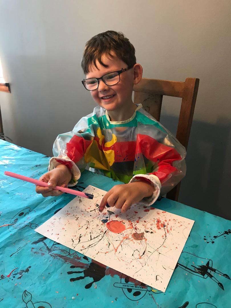 Holiday Club crafts Day 1