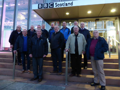 Men's Outing to BBC Scotland Studios