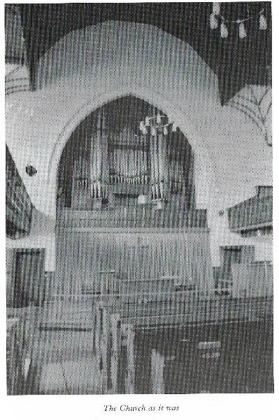 Sanctuary before refurbishment