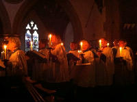 Choirs by candlelight