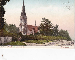 St. Michael's Church from the London Road - early 20th century
