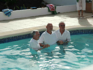 Brian Baptism.