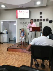 Pastor Gavin & Julie CWC Playa Blanca 25/05/19