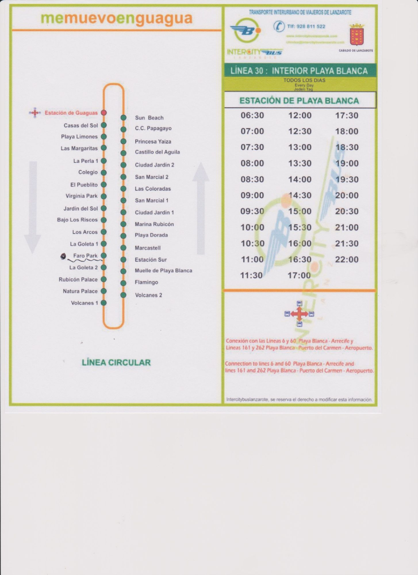Bus Time Table Number 30