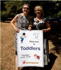 Julie and Vicki Toddlers