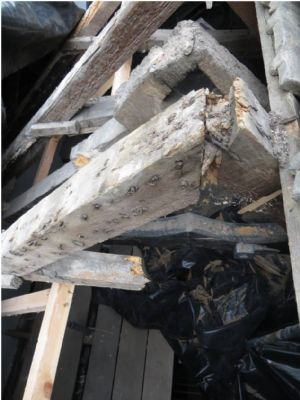 existing timbers