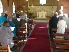All Saints service