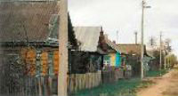 Belarus village street