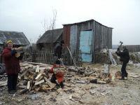 A home in northern Ukraine