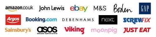 Retailers Logo Wall