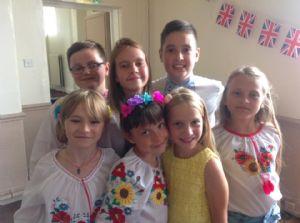 Visiting Ukrainian Children 2018