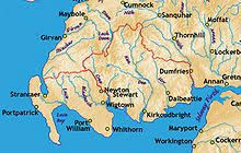 Map of Galloway