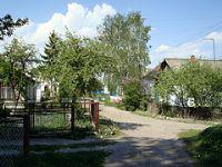 Ukraine village street