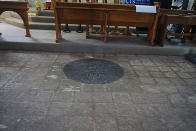 Floor tiles removed chancel Aug 2018