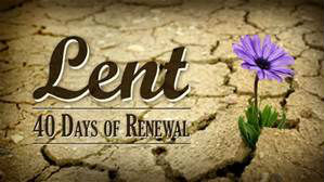 Lent 40 days renewal