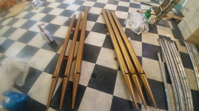 Organ pipes b4 and after celaning
