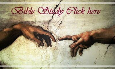 Bible Study Link to Group study hands touch God anmd man Michangelo painting