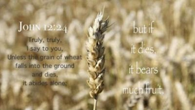 Easter Unless a grain of wheat