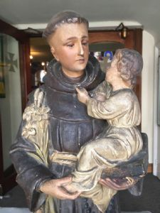 St. Anthony of Padua - Before Cleaning