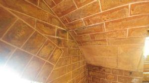Cleaned gallery bricks