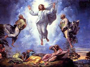Jesus Ascension into heaven