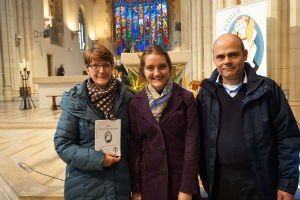 Lydia Mum& dad 23032016 Chrism Mass