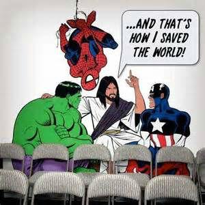 Jesus - The ultimate superhero