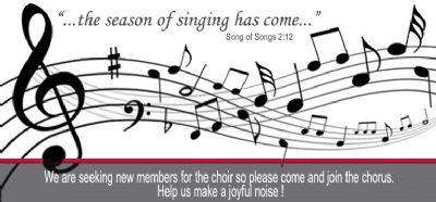 choir new members needed