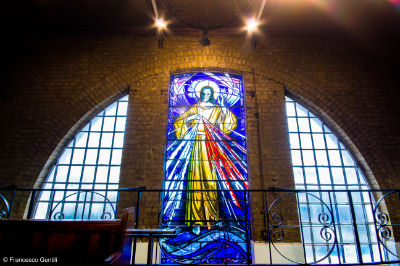 Divine Mercy window