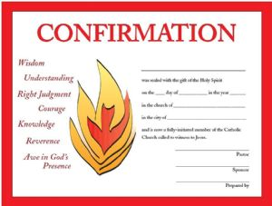 Confirmation Mass