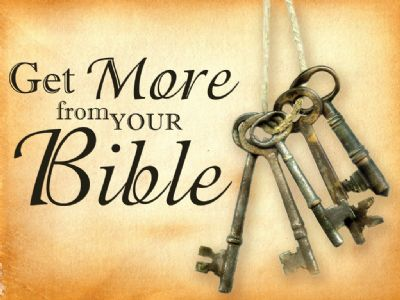 Get more from your bible photo of keys to unlock