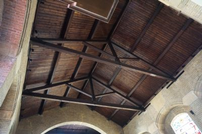 restored celened beams & ceiling timber