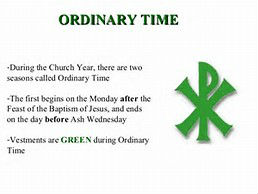 Green Ordinary Time