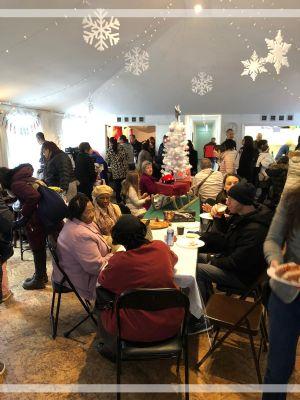 Eating in Hall Christmas Bazaar1st Dec 2019
