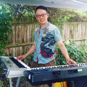 BBQ Ben on Keyboards 8 July 2018