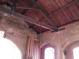 Refueb brick organ pipes