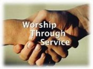 Worship through service