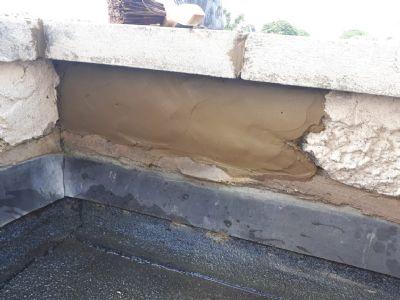 Repairing flat roof