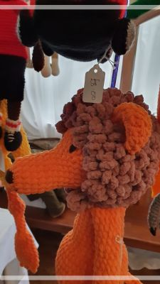 Knitted toys Stall at Christmas  Bazaar1st Dec 2019