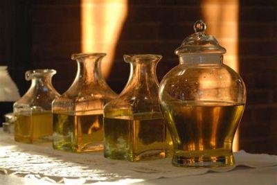 Chrism Mass oils